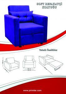 soft refakatçi koltuğu